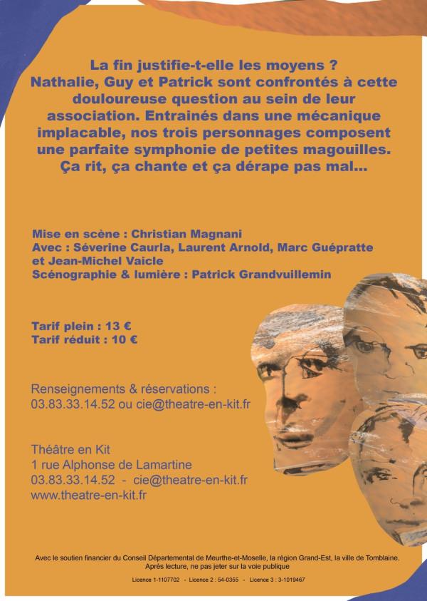 Théâtre, création, dates 2020