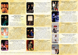 Théâtre jeunesse festival Rendez-vous-Moutards dates 2020