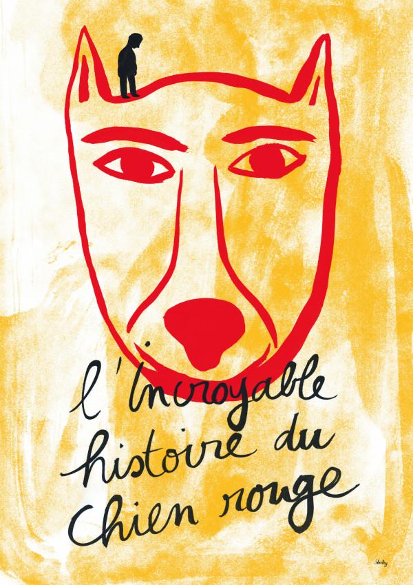Affiche L'Incroyable Histoire du Chien Rouge