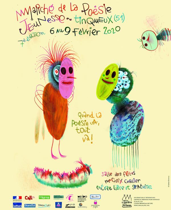 Marché de la poésie jeunesse - festival