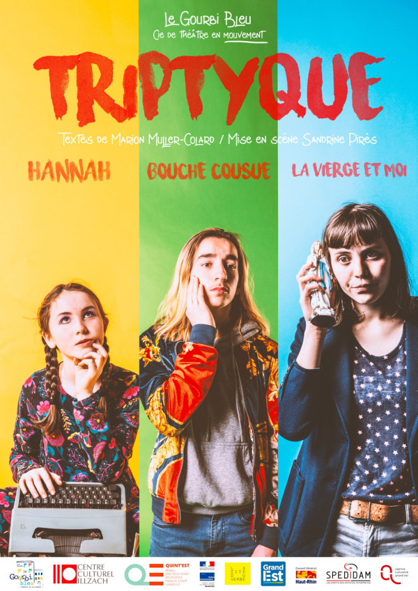 Triptyque // Hannah / Bouche cousue / La Vierge et moi