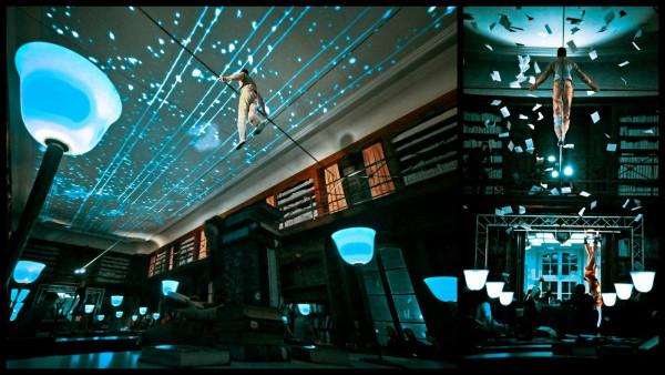 Underclouds Cie / Réouverture de la Bibliothèque Stanislas - Nancy - 2013