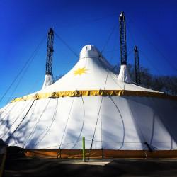Chapiteau spectacle de Graine de Cirque