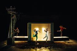 A MON CORPS DEFENDANT - danse musique arts visuels (création 2017) en tournée