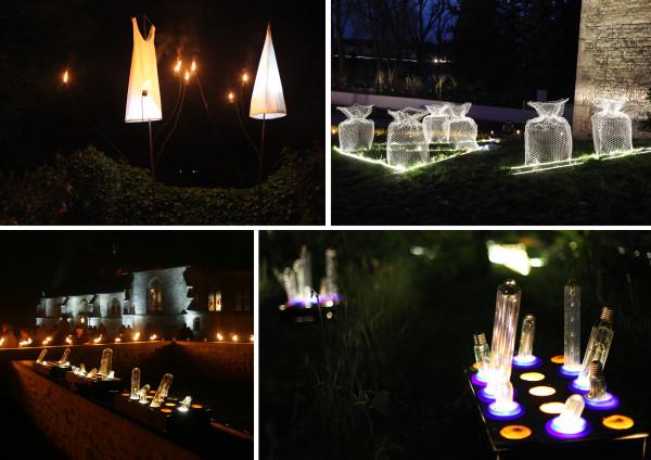 Lumière Matière - installations lumineuses