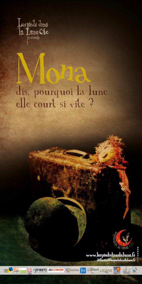 """Dernière création """"Mona"""" (dis, pourquoi la lune elle court si vite ?) / Versions Rue et Salle"""