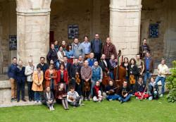 Résidence à l'Abbaye de St-Michel-en-Thiérache, mai 2015