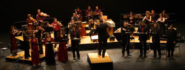 """Concert Bach """"Oratorio de Noël"""" - Théâtre des Gémeaux, Sceaux, décembre 2010"""