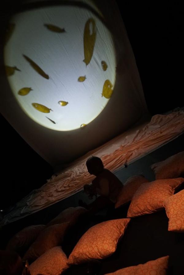 Au Fond des Mers, création 2021, spectacle pour la petite enfance