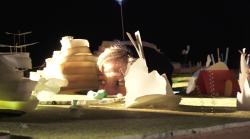 Création immersive tout public Au jardin des potiniers en collaboration avec la compagnie québécoise Création dans la chambre/ janvier 2019/ Théâtre Nouvelle Génération-CDN de Lyon