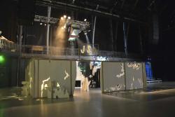 Jungle Space in America ( installation)/ octobre 2016/ Halles de Schaerbeek ( Bruxelles)