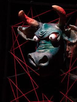 spectacle : Le Sauvage et le Sacré , le Minotaure