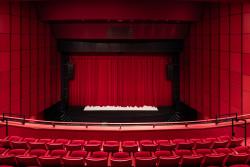 Salle du théâtre La Coupole vue du balcon