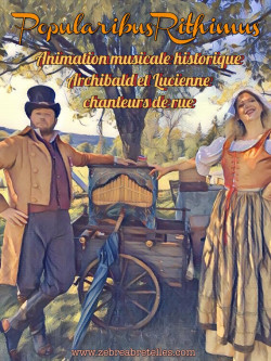 Popularibus Rithimus - Spectacle reconstitution historique, chant et musique mécanique