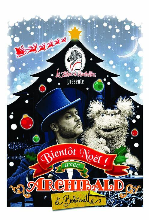 Bientôt Noël - Spectacle Jeune public, théâtre musical, marionnette et musique mécanique