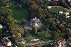 Médiathèque du Val d'Argent - Vue aérienne Villa Burrus