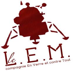 Logo LEM / Cie En Verre et contre Tout